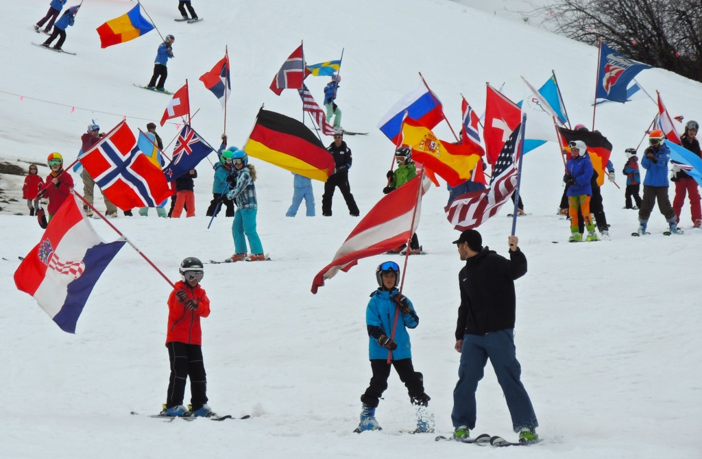 ted ligety, ski parade, park city, welcome home, shred optics, poc, oakley, zeal